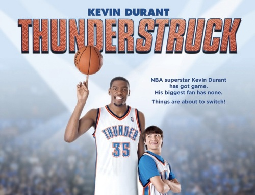 Thunderstruck might not win any awards, but Durant likely will